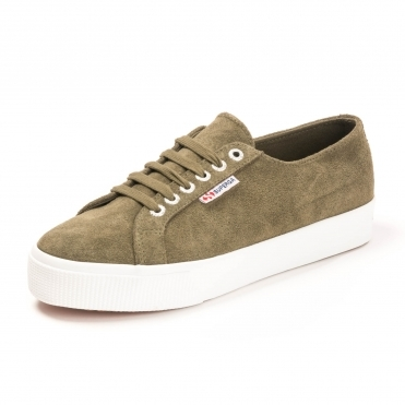 2730 Suede Womens Middle flatform Trainer
