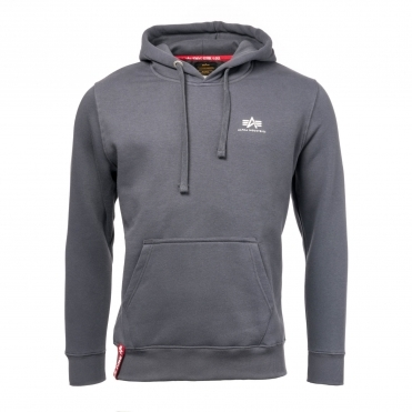 Alpha Industries Basic Mens Hoody Small Logo