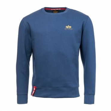 Alpha Industries Basic Mens Sweater Small Logo