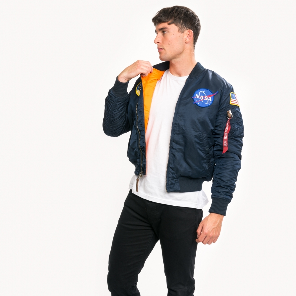 Alpha Industries Alpha Industries MA 1 VF Mens NASA Jacket