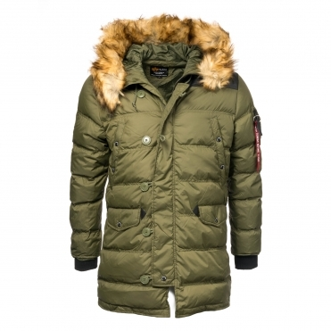 Alpha Industries Mens N3-B Puffer Jacket
