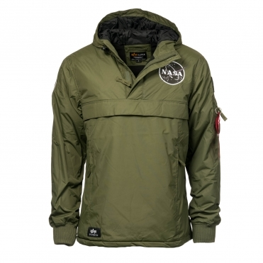 Alpha Industries Mens NASA Anorak Jacket