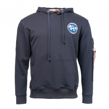 Alpha Industries Moon Landing Mens Hoody