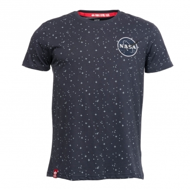 Alpha Industries NASA Mens Tape T-Shirt