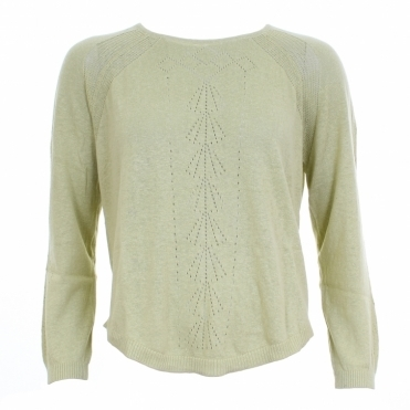 Annabel Womens Hemp Knit Top