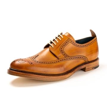 da5b6f9d0bc53 Grenson Fred Handpainted Tan Mens Brogue - Schuhe from CHO Fashion ...