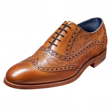 Barker Grant Mens Leather Brogue