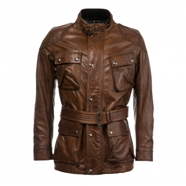 Belstaff Trialmaster Panther Leather