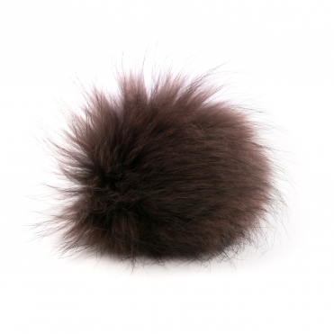 BKLYN Brown Pom Pom