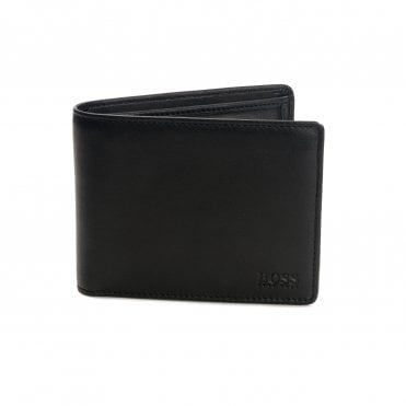 Boss Athleisure Arezzo Trifold Smooth Leather Wallet