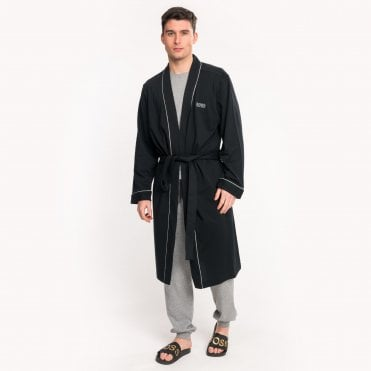 Boss Athleisure Mens Cotton Dressing Gown