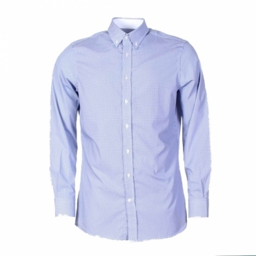 Cobalt Eclipse Print Mens Shirt