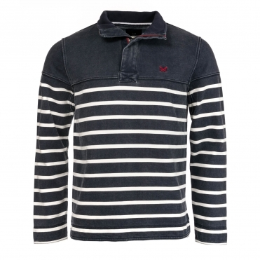 Crew Clothing Mens Padstow Pique Sweat