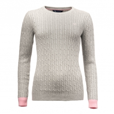 Crew Clothing Womens Heritage Cable Jumper WJD026
