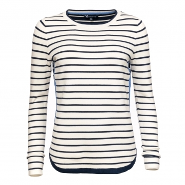 Crew Clothing Womens Striped Jumper