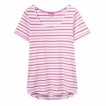 Daily Stripe Jersey Ladies T-Shirt (W)