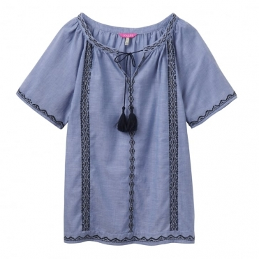 Diaz Woven Ladies Top (W)