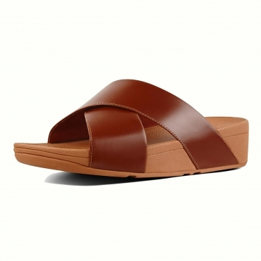 fitflop Lulu Cross Slide Sandals Womens Flipflop