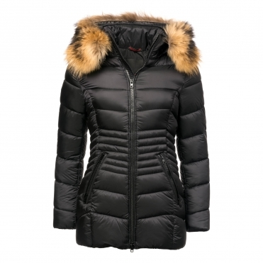 Froccella Womens B220M Quilted Mid Jacket