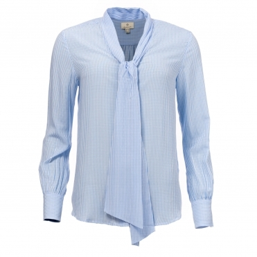 GANT Banker Bow Womens Blouse
