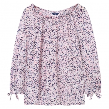 GANT Ditzy Flower Womens Blouse S/S 18