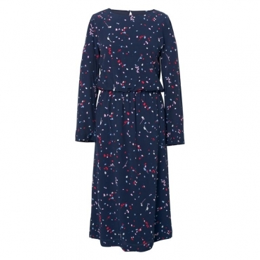 GANT Fall Leaves Printed Womens Dress