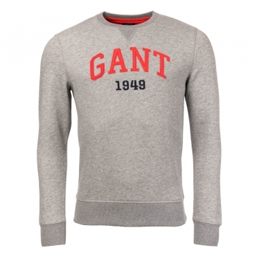 GANT Graphic Crew Mens Sweatshirt