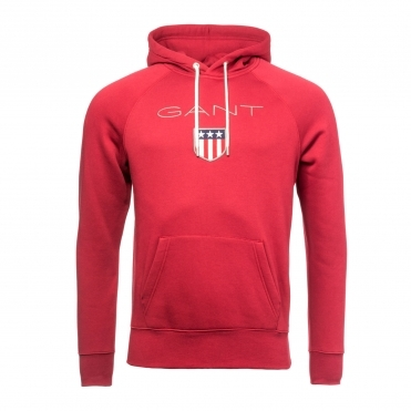 GANT Original Shield Sweat Mens Hoodie