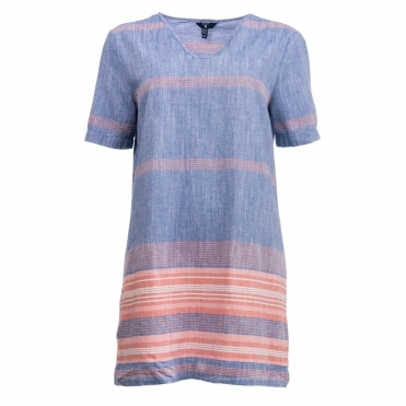 GANT Striped Chambray Womens Tunic S/S 18