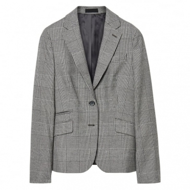 Glen Check Ladies Blazer