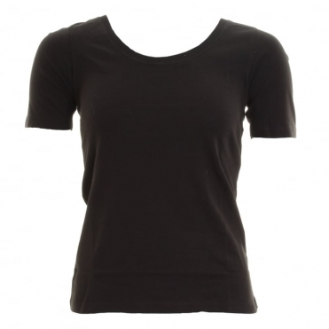 Great Plains Basics 3/4 Round Neck Womens T-Shirt
