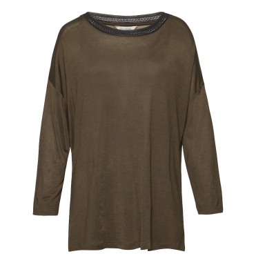 Great Plains Maria Jersey Long Sleeve Womens Top