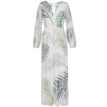 Great Plains Palm Camo Breeze Womens Maxi Dress