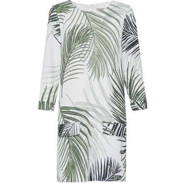 Great Plains Palm Camo Shift Womens Dress