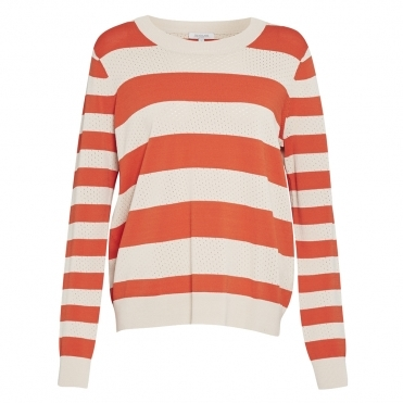 Great Plains Ronnie L/S Pointelle Womens Jumper