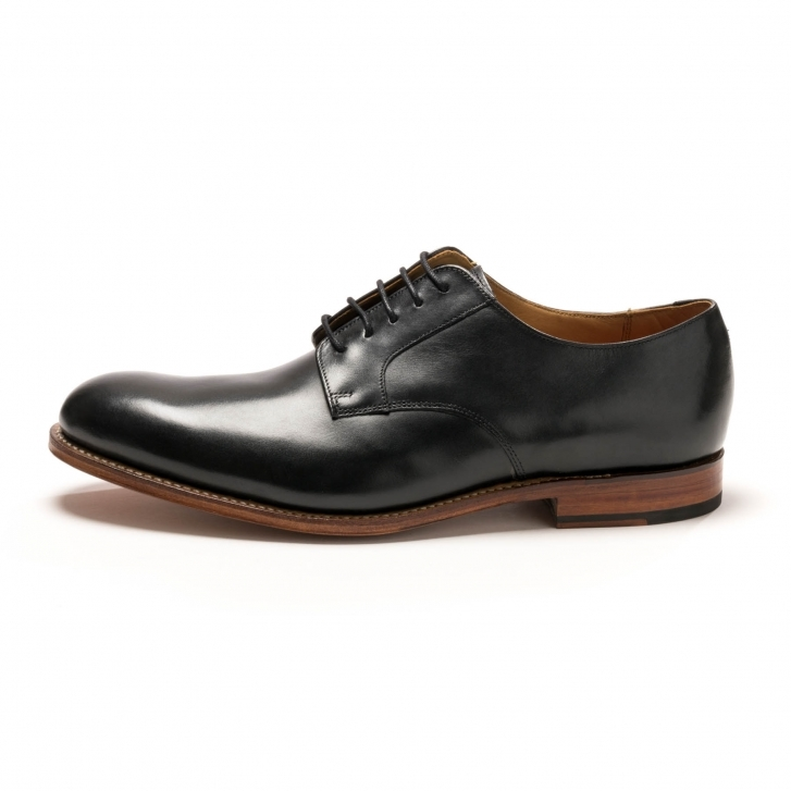 38e413058f64b5 Grenson Liam Black Calf Mens Derby - Herren from CHO Fashion ...