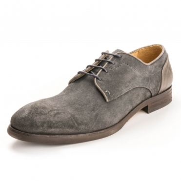 HUDSON LONDON Dreker Suede Mens Brogue