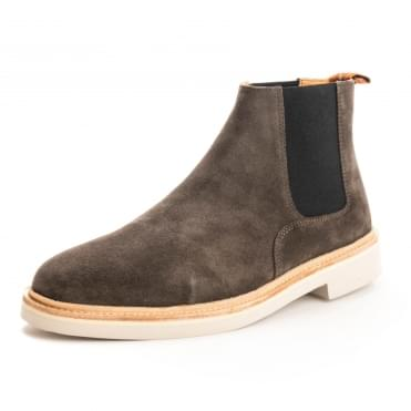 HUDSON LONDON Gallant Suede Chelsea Mens Boot