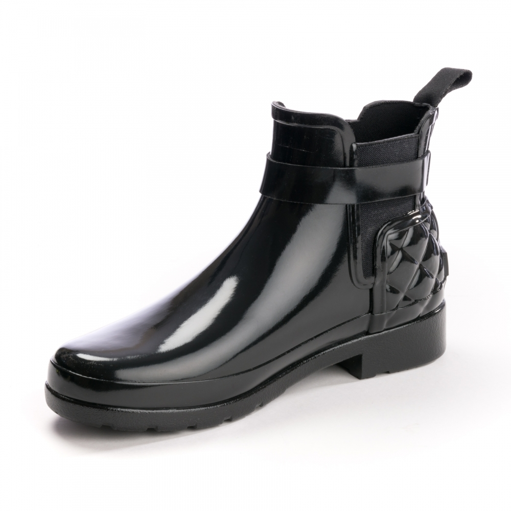 8e54925d4735d1 ... Stiefel für Frauen. Imagezoom. Hunter Refined Gloss Quilted Womens  Chelsea Boot