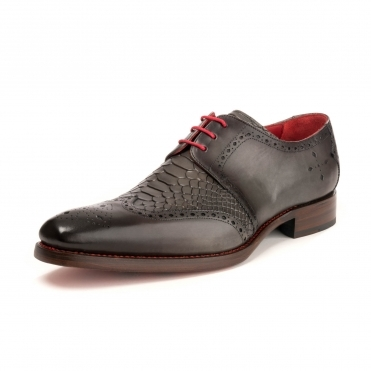 Jeffery West Dexter Bay Shadow Wing Tip Mens Shoe