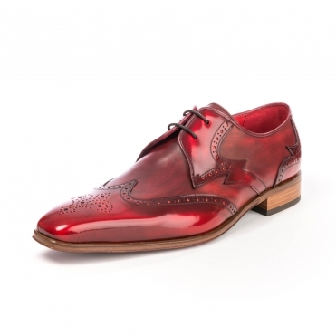 Jeffery West KO88 Capone Wing Tip Mens Shoe