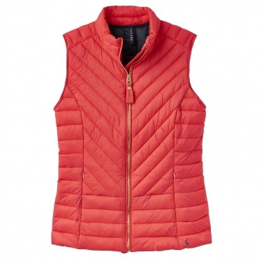 Joules Brindley Chevron Quilted Womens Gilet (Z)