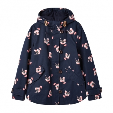 Joules Coast Print Womens Waterproof Jacket A/W 19