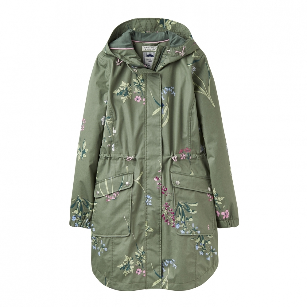 Joules Joules Coastline Print Waterproof Womens Jacket (Y)