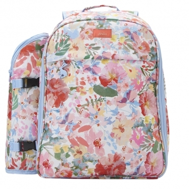 Joules Fully Insulated 4 Person Printed Picnic Rucksack S/S 19