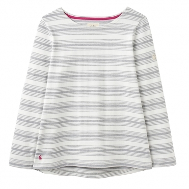 Joules Harbour Long Sleeve Womens Jersey Top (Z)