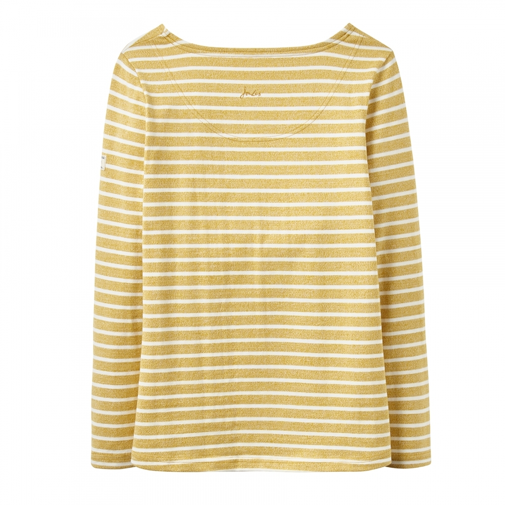 GOLD STRIPE JOULES HARBOUR TOP