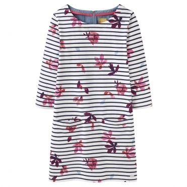 Joules Jade Jersey Woven Mix Womens Tunic (Z)