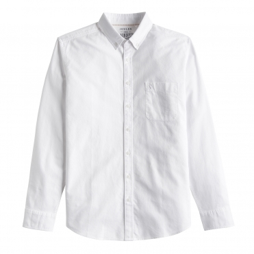 Joules Laundoxfd Long Sleeve Classic Fit Mens Shirt (Y)