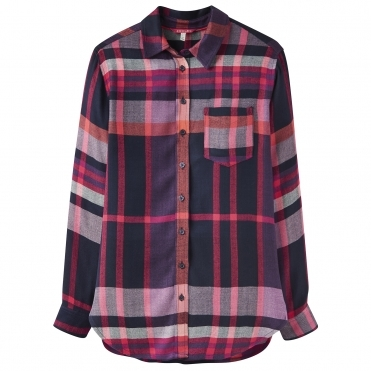 Joules Laurel Check Womens Shirt (Z)